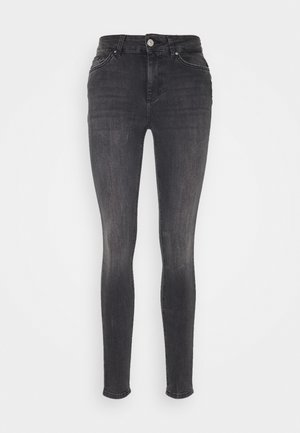 PCDELLY NOOS  - Jeans Skinny Fit - dark grey denim