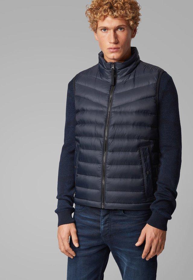 OLMEEV - Waistcoat - dark blue