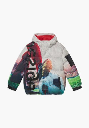 CHAQ PROTÁGORAS - Winter jacket - white/multicolored