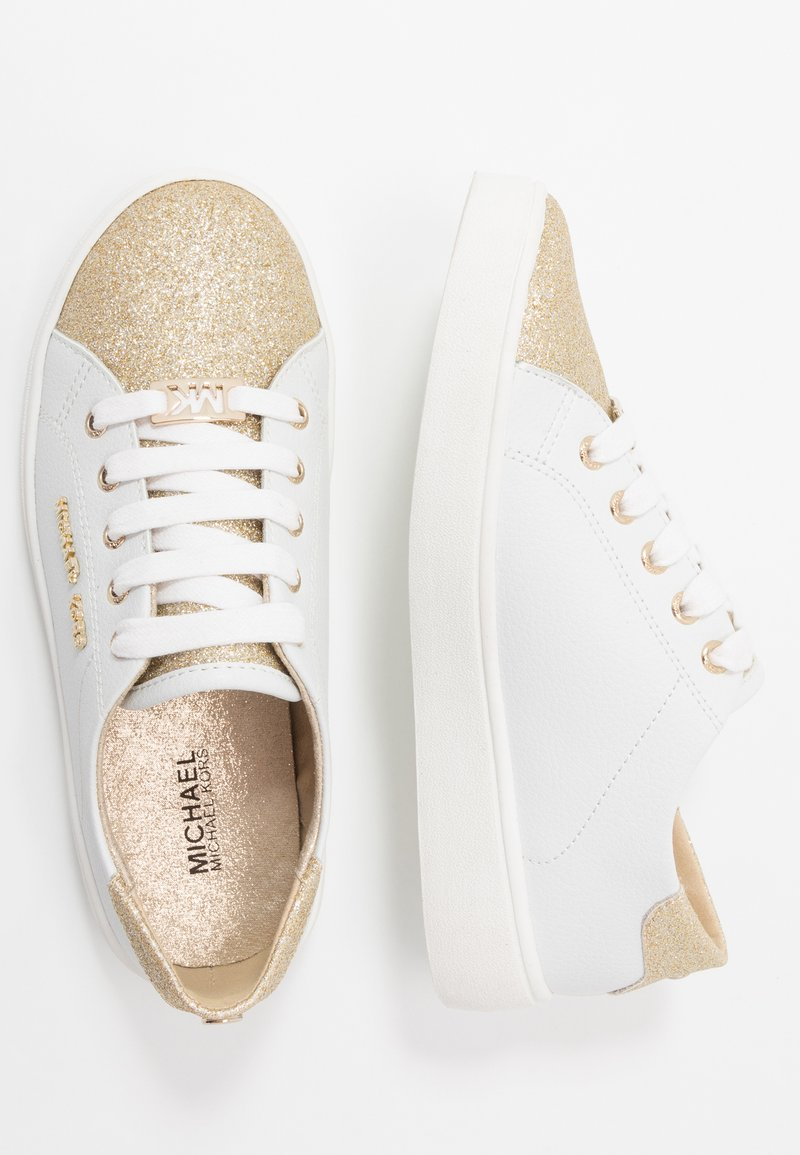 MICHAEL Michael Kors - ZIA JEM AWE - Baskets basses - white/gold