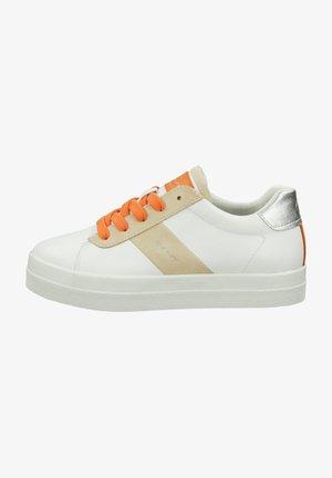 Trainers - bright white/maca  beige