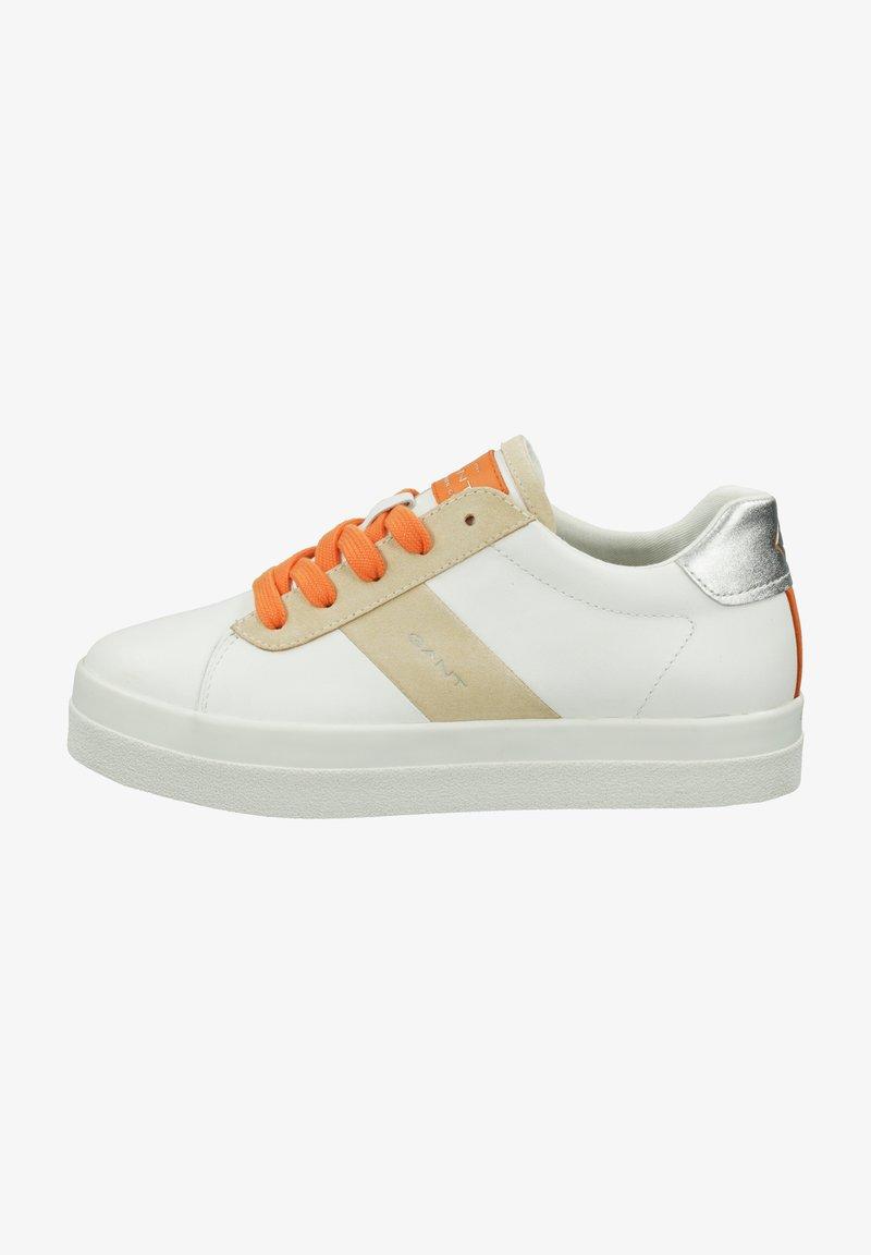 GANT - Trainers - bright white/maca  beige