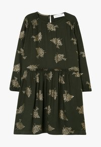 Rosemunde - DRESS LS - Day dress - green/gold - 0