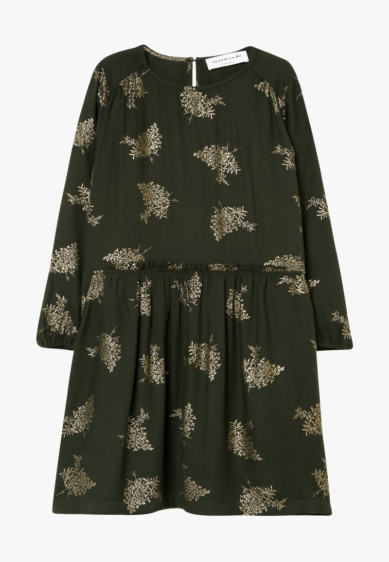 Rosemunde - DRESS LS - Day dress - green/gold