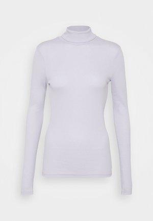 PCBIRDIE T NECK - Long sleeved top - purple heather
