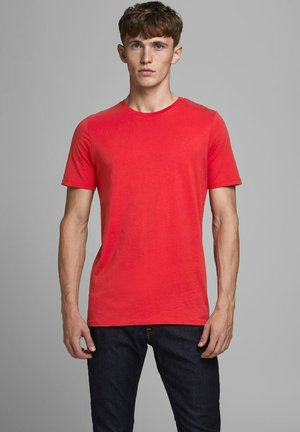 Basic T-shirt - true red