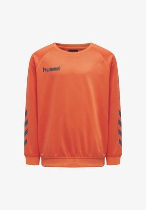 HMLPROMO - Sweatshirt - nasturtium