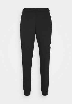 TAPER - Pantalon de survêtement - black/white