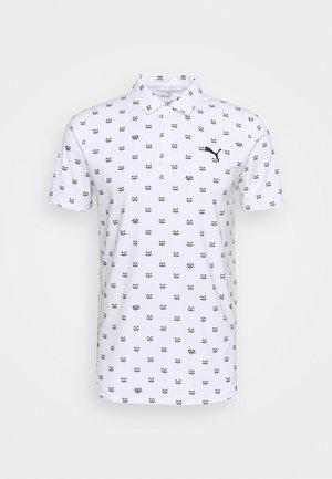 CLOUDSPUN BANDIT - Koszulka polo - bright white