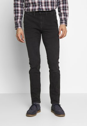 JAMES - Slim fit jeans - charcoal