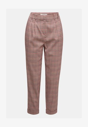 HAHNENTRITT  - Trousers - bordeaux red