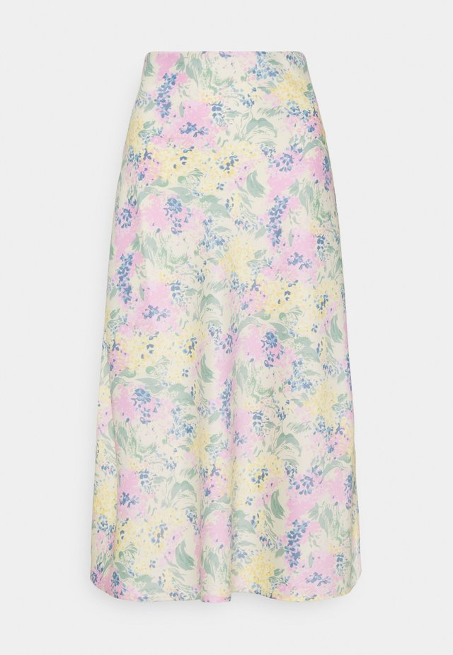 YASDOTTEA MIDI SKIRT - A-snit nederdel/ A-formede nederdele - multi-coloured