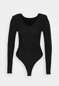 SHOULDER PAD BODY - T-shirt à manches longues - black