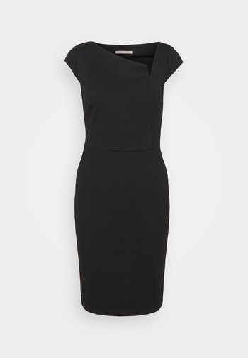 Casual Smart mini bodycon dress with cut out
