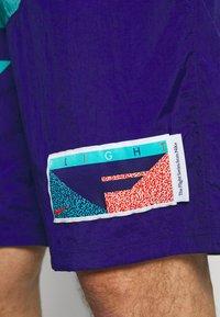 Nike Performance - FLIGHT SHORT - Sportovní kraťasy - regency purple/teal/mountain blue - 5