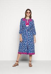 J.CREW - STRAIGHT SKIRT DRESS - Day dress - cerulean/multi - 1