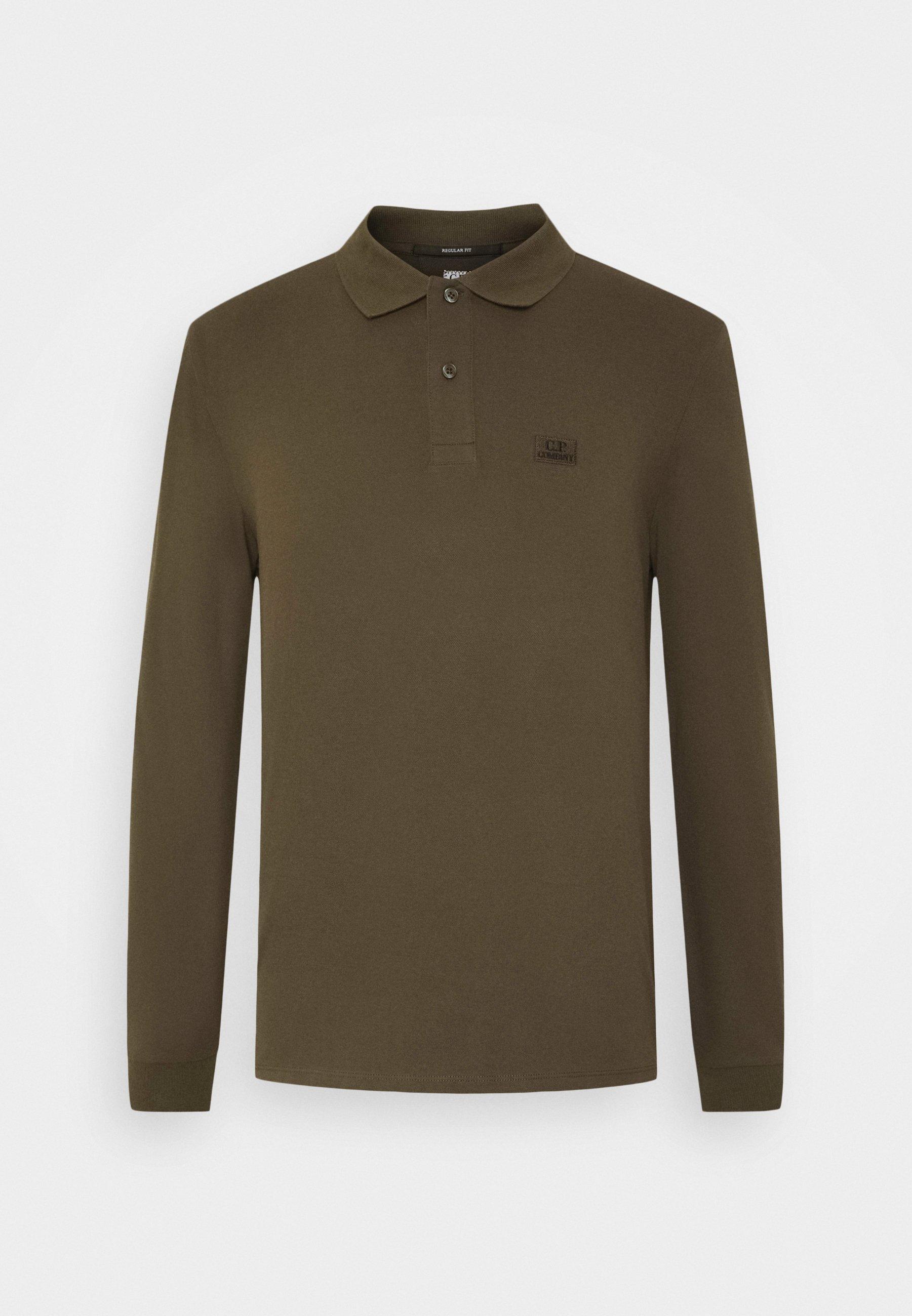 C.p. Company Long Sleeve - Poloshirt Ivy Green