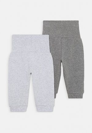 2 PACK - Tracksuit bottoms - grey