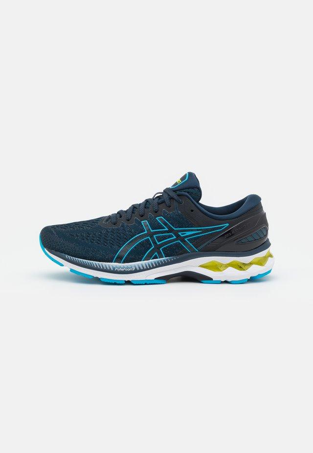 GEL KAYANO 27 - Stabilty running shoes - french blue/digital aqua