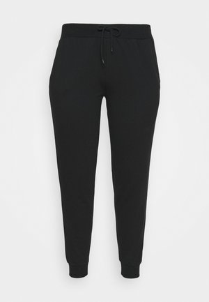 SLIM FIT JOGGERS - Verryttelyhousut - black