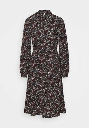 ONLNOVA LUX SMOCK BELOW KNEE DRESS - Kjole - black