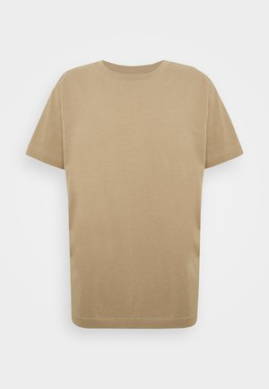 RELAXED  - Basic T-shirt - beige