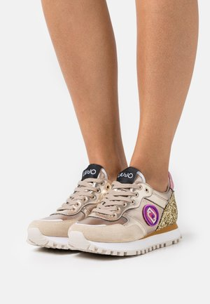 Trainers - gold/purple