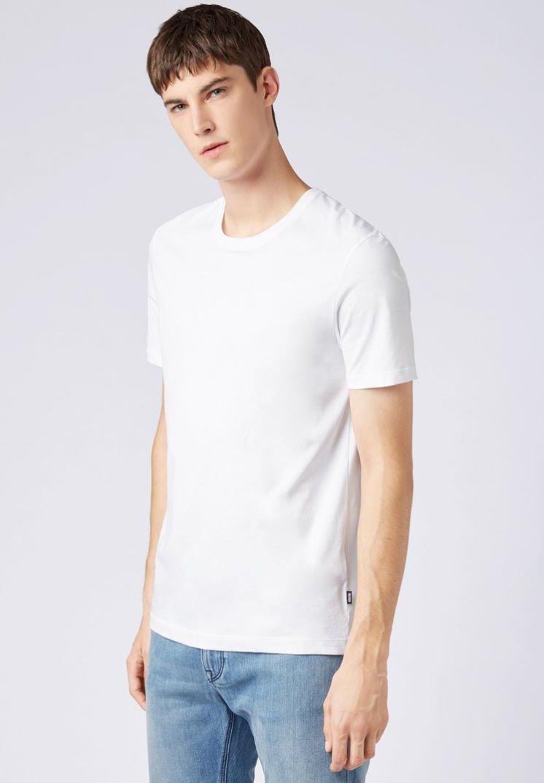 BOSS - TIBURT  - T-shirt basique - white