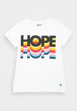 RANVA - T-Shirt print - white