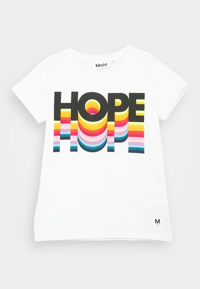 RANVA - Print T-shirt - white