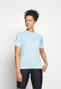 POC - ESSENTIAL TEE - T-Shirt print - light kalkopyrit blue - 0