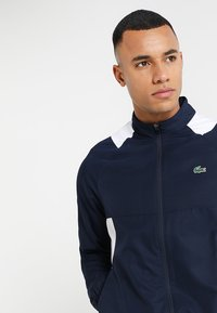 Lacoste Sport - TRACKSUIT - Tracksuit - navy blue/white white - 5