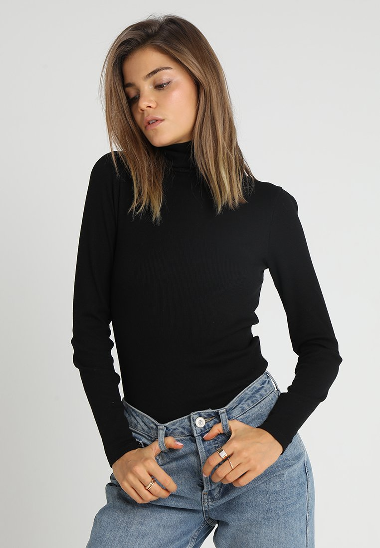Even&Odd - Långärmad tröja - black