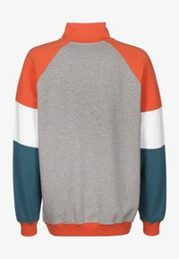Napapijri The Tribe - BIRE HZ - Sweatshirt - med grey mel - 1