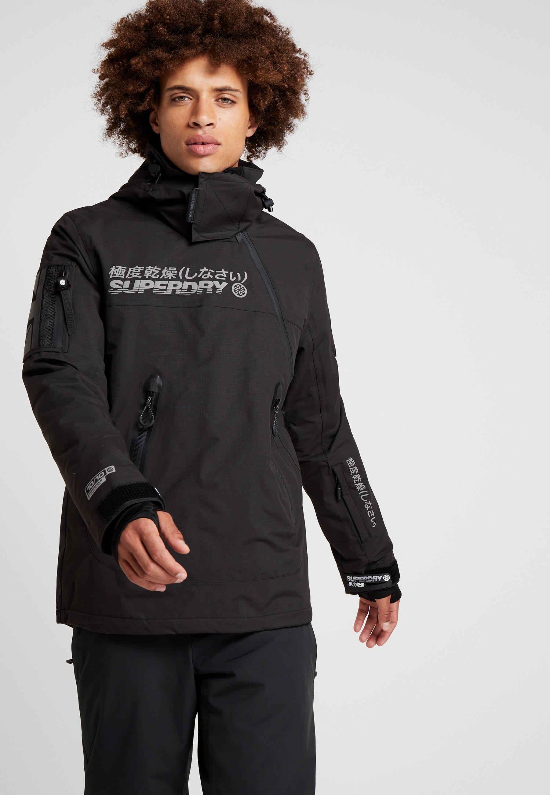 SNOW RESCUE OVERHEAD JACKET Ski jas onyx black