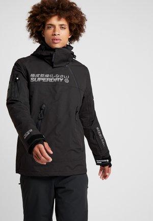 SNOW RESCUE OVERHEAD JACKET - Ski jacket - onyx black
