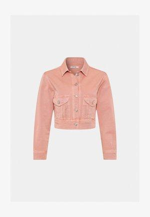 KURZE - Denim jacket - lachsfarben
