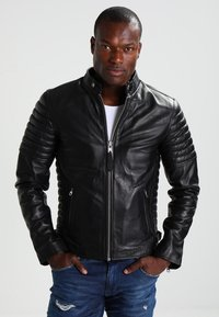 Schott - JOE - Leather jacket - black - 0