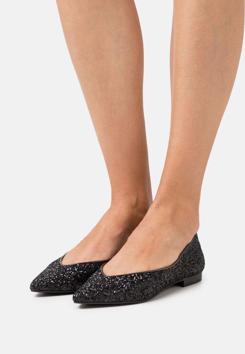 Chatelles - AMÉDÉE - Ballet pumps - black sparkle