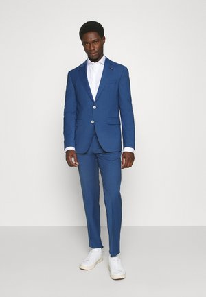 SLIM FIT SUIT - Suit - denim blue heather