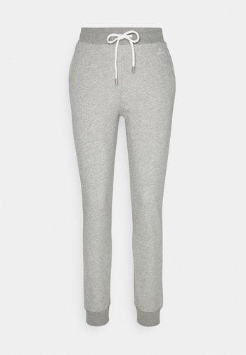 LOCK UP PANTS - Tracksuit bottoms - grey melange