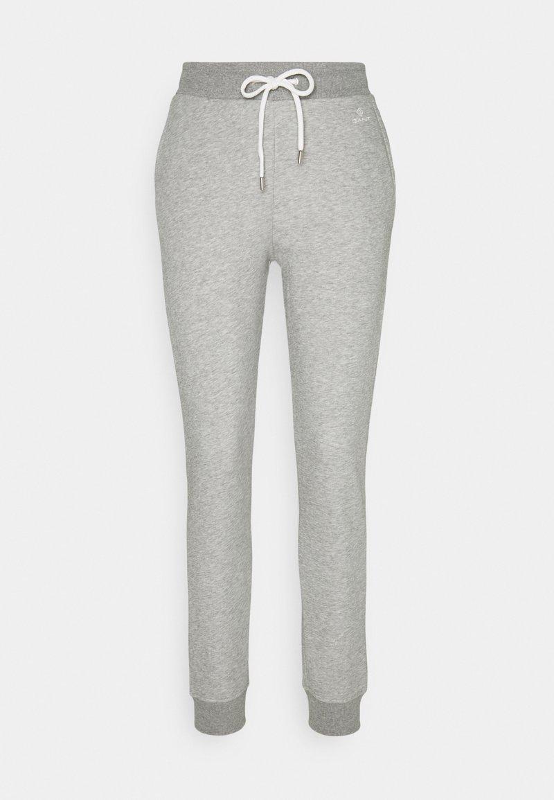 GANT - LOCK UP PANTS - Tracksuit bottoms - grey melange