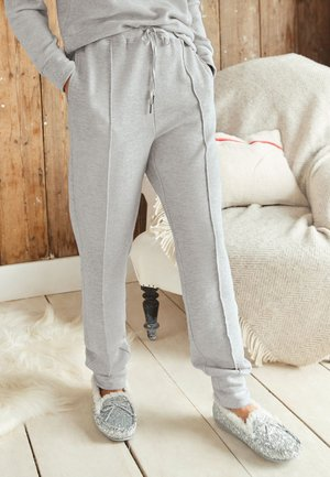 SWEAT - Tracksuit bottoms - grey
