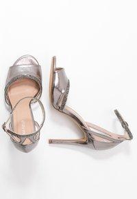 Anna Field - Sandaler med høye hæler - gunmetal - 3