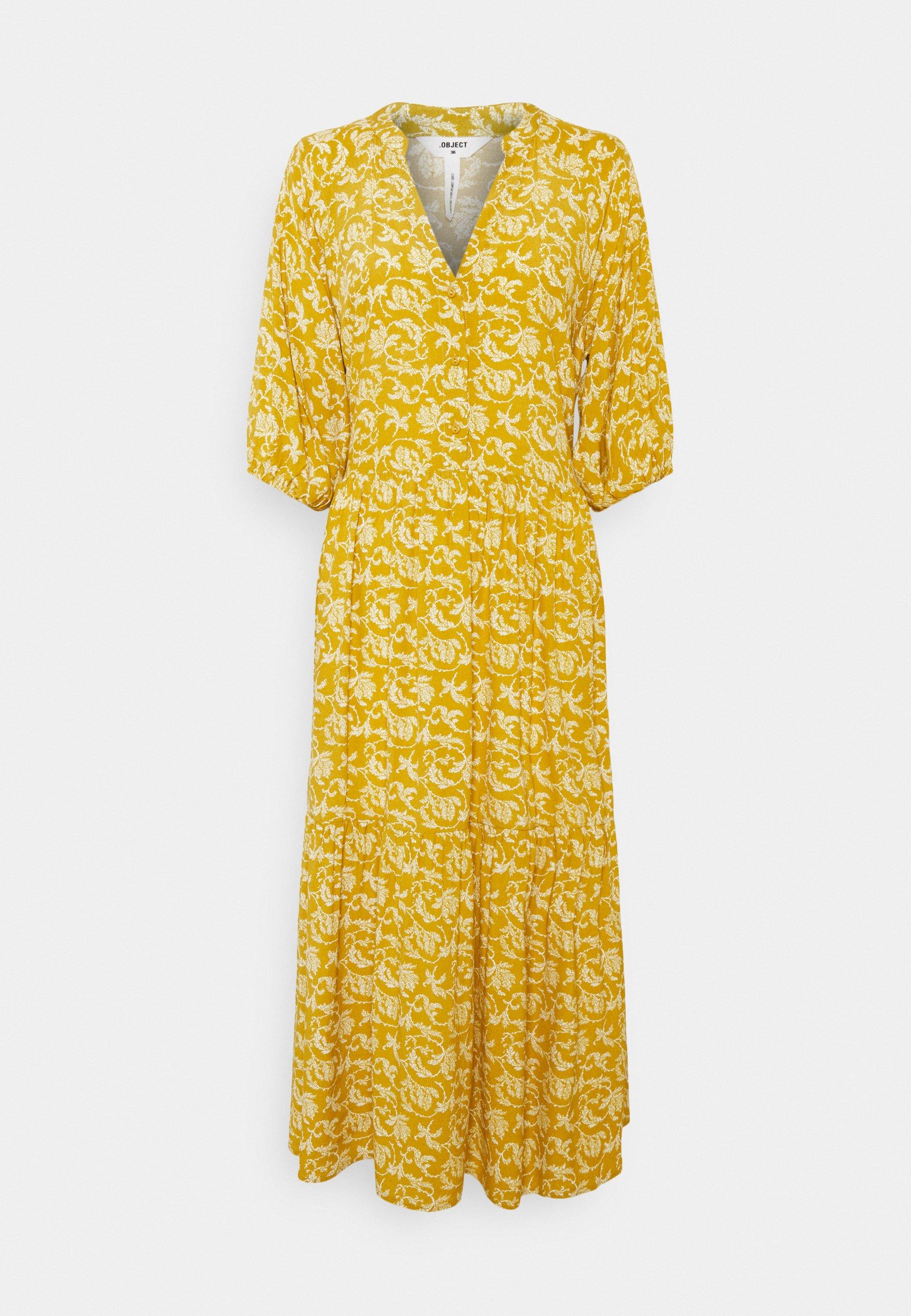 Women OBJSOPHIA DRESS TALL - Shirt dress