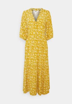 OBJSOPHIA DRESS TALL - Shirt dress - honey mustard
