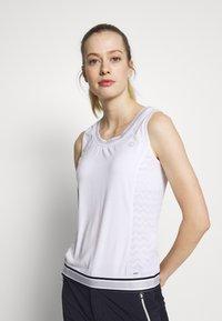 Luhta - HONKILAHTI - Sports shirt - optic white - 0