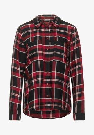 IM KARO DESSIN - Button-down blouse - rot