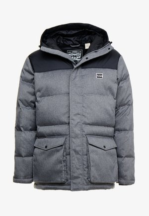 PUFFER - Untuvatakki - dark heather grey