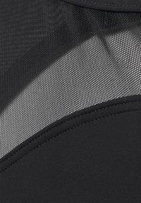 Speedo - SHAP IRIS - Swimsuit - black - 2